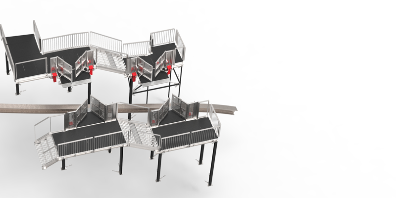 Mountain Climber - Climbing Assistance - Inclined lift - Benefits - Stations