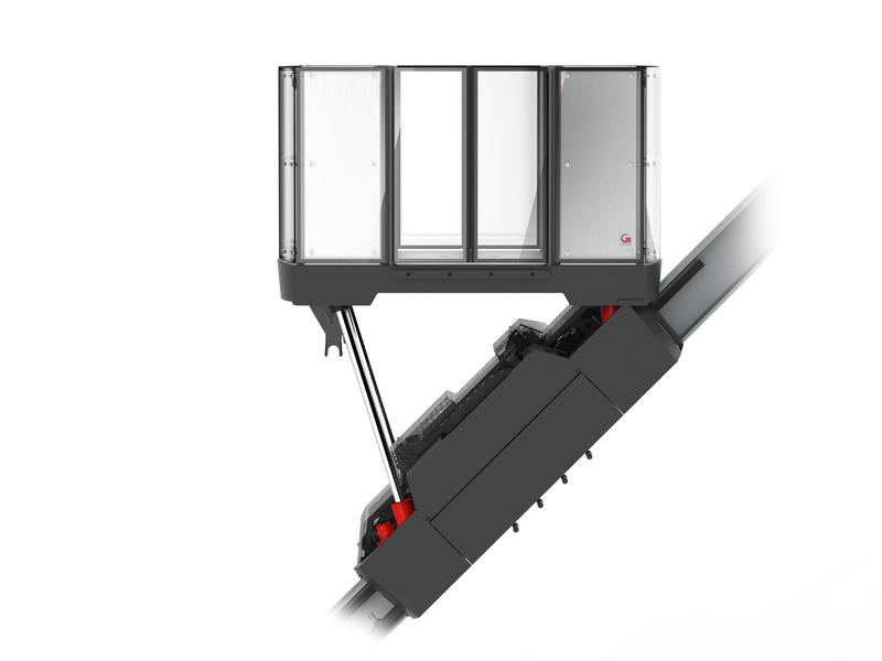 Mountain Climber - Climbing Assistance - Inclined lift - Impressions - Open version