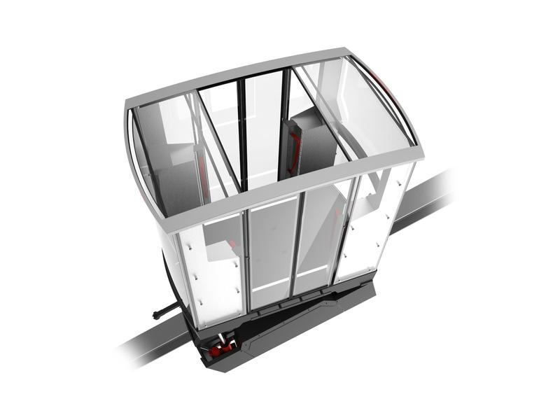 Mountain Climber - Climbing Assistance - Inclined lift - Impressions - Closed version